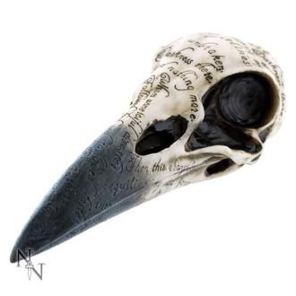 decoration Edgar's Raven Skull, NNM