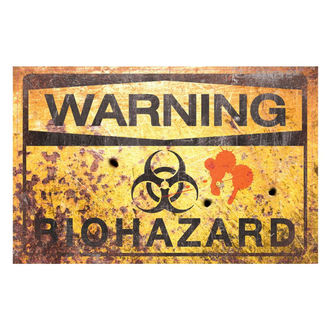 decoration (signs) Warning Bio Hazard