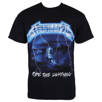 t-shirt metal men's Metallica - Ride The Lightening -, Metallica