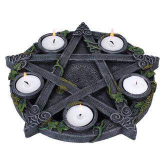 candlestick (decoration) Wiccan Pentagram Tea