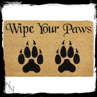 doormat Wipe Your Paws, NNM
