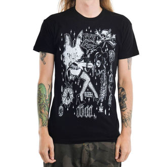 t-shirt gothic and punk men's - MOUSEY - TOO FAST