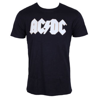 t-shirt metal men's AC-DC - Logo & Angus Applique Slub - ROCK OFF, ROCK OFF, AC-DC