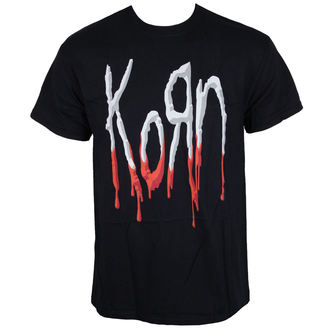 t-shirt metal men's Korn - Bloody Logo -, Korn