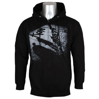 hoodie men's Korn - Black -, Korn
