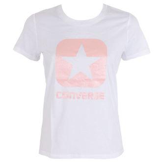 t-shirt street women's - Metallic Boxstar - CONVERSE, CONVERSE