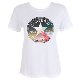 t-shirt street women's - New Wave Cp Easy - CONVERSE, CONVERSE