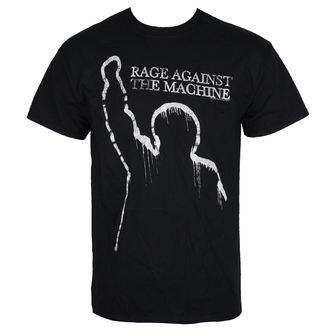 t-shirt metal men's Rage against the machine - BLACK - LIVE NATION, LIVE NATION, Rage against the machine