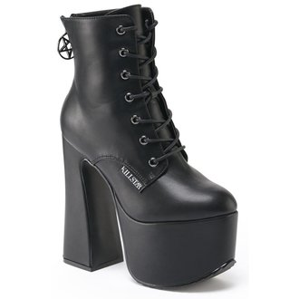 boots women KILLSTAR - Hell-O - Black, KILLSTAR
