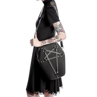 handbag (bag) KILLSTAR - Hexellent Coffin - Black - K-BAG-F-2443