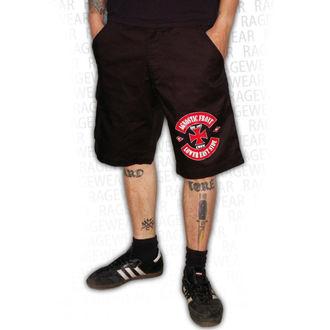Shorts men's AGNOSTIC FRONT - LOWER EASTSIDE - Black - RAGEWEAR