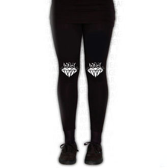 Pants women's (leggings) WALLS OF JERICHO - DIAMONDS - Black - RAGEWEAR, RAGEWEAR, Walls of Jericho