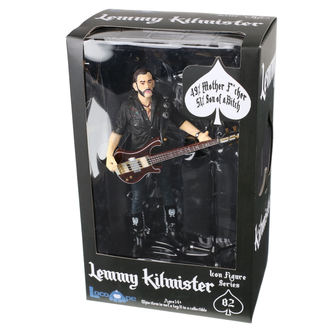 Action Figure Motörhead - Lemmy Kilmister - Guitar Dark Wood