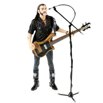 Action Figure Motörhead - Lemmy Kilmister - Black Pick Guard Guitar