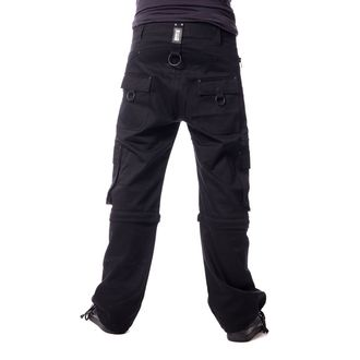 pants men VIXXSIN - KILLIAN - 2 WAY BLACK, VIXXSIN