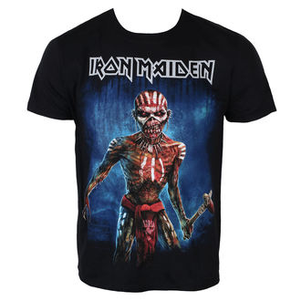 t-shirt metal men's Iron Maiden - Black - ROCK OFF
