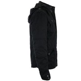 bunda pánská zimní BRANDIT - Britannia - Black - 9390/2