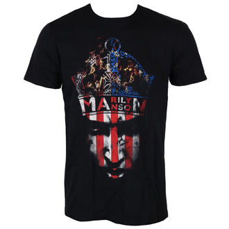t-shirt metal men's Marilyn Manson - Crown - ROCK OFF - MMTS05MB