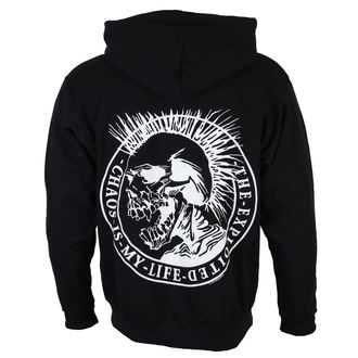 hoodie men's Exploited - Chaos is my life - NUCLEAR BLAST, NUCLEAR BLAST, Exploited