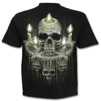 t-shirt men's - WAXED SKULL - SPIRAL - K045M101