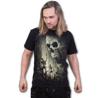 t-shirt men's - WAXED SKULL - SPIRAL, SPIRAL