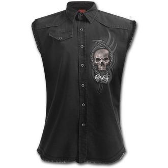 shirt men with no sleeveless SPIRAL - BOSS REAPER - Black, SPIRAL