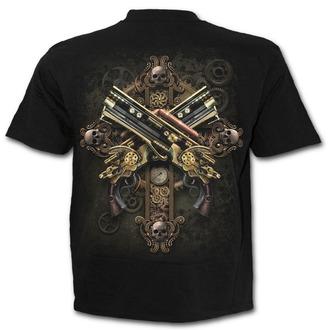 t-shirt men's - STEAMPUNK SKELETON - SPIRAL, SPIRAL
