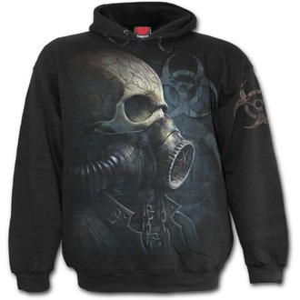 hoodie men's - BIO-SKULL - SPIRAL, SPIRAL