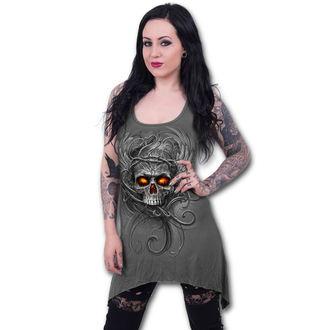 dress women SPIRAL - ROOTS OF HELL - Grey, SPIRAL