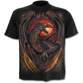 t-shirt men's - DRAGON FURNACE - SPIRAL - L016K101