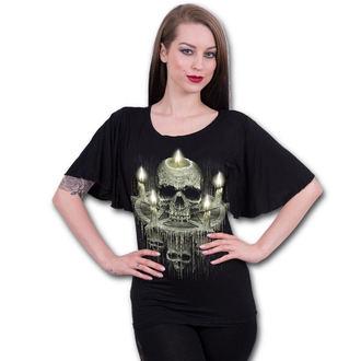 t-shirt women's - WAXED SKULL - SPIRAL, SPIRAL