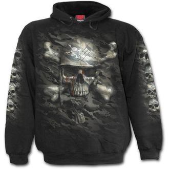 hoodie men's - CAMO-SKULL - SPIRAL - T141M451