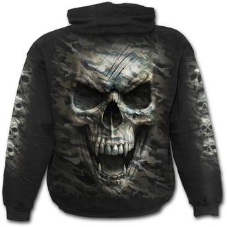 hoodie men's - CAMO-SKULL - SPIRAL, SPIRAL