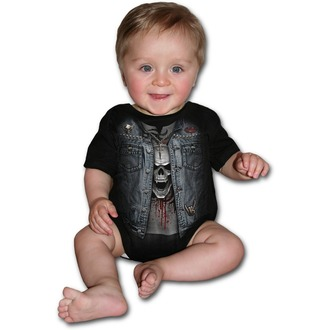 bodysuit children's SPIRAL - THRASH METAL - Black, SPIRAL