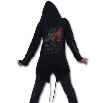 hoodie women's - BURNT ROSE - SPIRAL - K048F273
