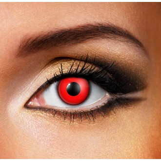 contact lens DEVIL RED - EDIT, EDIT