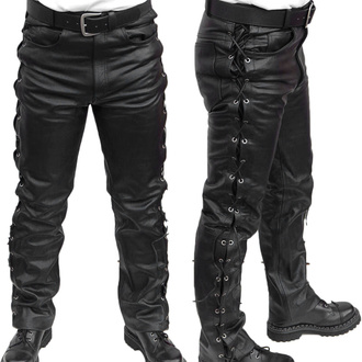 pants leather men MOTOR, MOTOR