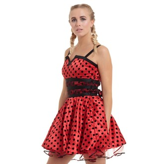 dress women JAWBREAKER - Ladybird Flare, JAWBREAKER