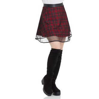 skirt women's JAWBREAKER - Tartan Two Layer, JAWBREAKER