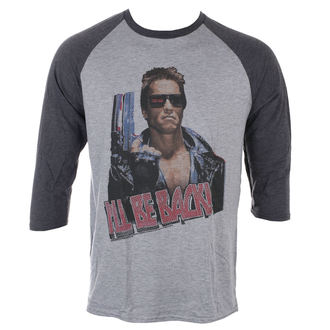 t-shirt men with 3/4 sleeve TERMINATOR - I'LL BE BACK - TER501_202S