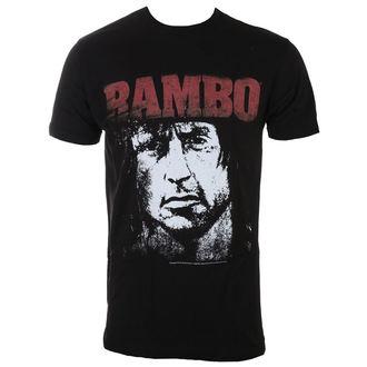t-shirt men RAMBO - Red&White, AMERICAN CLASSICS