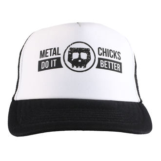 cap METAL CHICKS DO IT BETTER - Skull - Logo - Black, METAL CHICKS DO IT BETTER