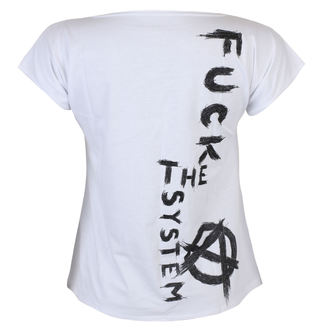 t-shirt women's - Fuck the System - ALISTAR, ALISTAR