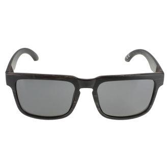 glasses sun Meatfly - Craft A - Black Wood, MEATFLY
