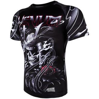 t-shirt street men's - Samurai Skull Rashguard - VENUM, VENUM