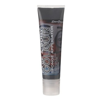body and face color STAR GAZER - Primary Shade Face Paint 100Ml - Black, STAR GAZER