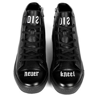 high sneakers unisex - DISTURBIA
