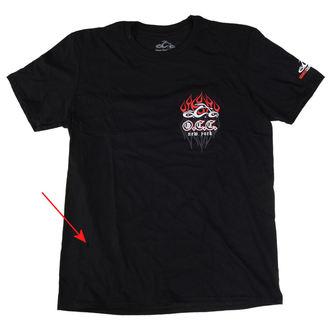 t-shirt men's - Pinstripe Flame - ORANGE COUNTY CHOPPERS, ORANGE COUNTY CHOPPERS