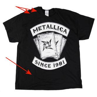 t-shirt metal men's Metallica - Black Dealer - LIVE NATION, LIVE NATION, Metallica
