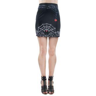 Skirt women's TOO FAST - MERCY - BLACK WIDOW - WSKMR-R-BLKW